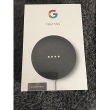 2nd Generation Google Nest Mini Smart Speaker - Charcoal