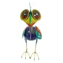 Ethical Balinese Iron Work Multicoloured Bird Ornament animal funky gift hippy