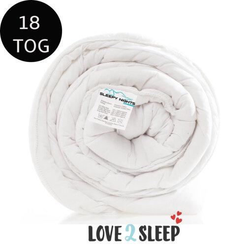 Ultra Extra Warm 18.0 Tog Soft Duvet Anti Allergy Quilt