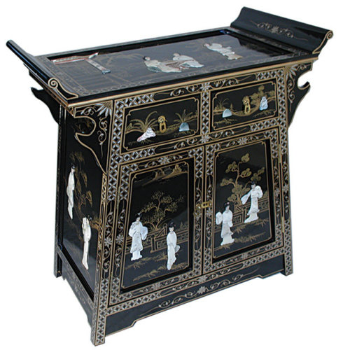 Lacquer Mother Of Pearl Furniture