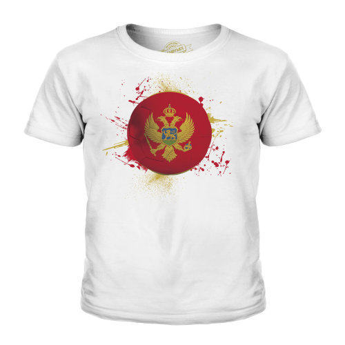 Candymix - Montenegro Football - Unisex Kid's T-Shirt