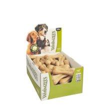 Whimzees Natural Dental Sticks Chew Dog Treats, Rice Bone - Box of 50