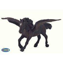 Papo Black Pegasus Figurine - Figure -  black pegasus papo figure