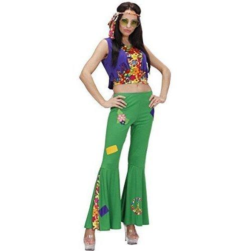 Hippie Faux Fur Vest 60/'s Woodstock Fancy Dress Halloween Costume Accessory