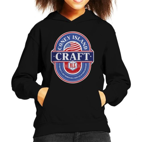 Coney Island Craft Ale Kid's Hooded Sweatshirt
