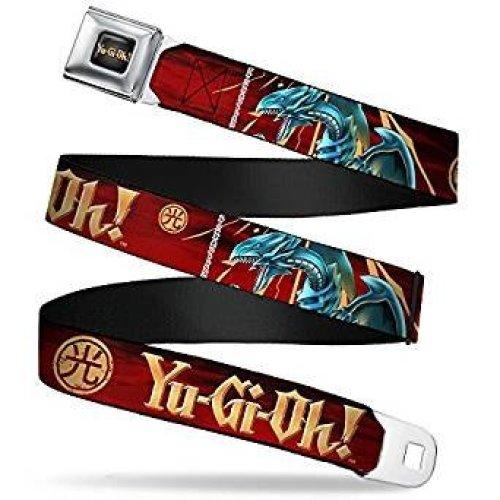 Seatbelt Belt - Yu Gi oh! - V.4 Adj 24-38' Mesh New yoa-wy0013