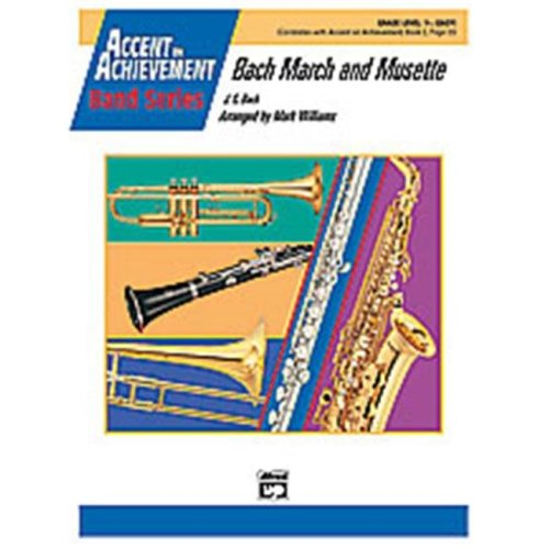 Alfred 00-22246 BACH MARCH AND MUSETTE-AOA