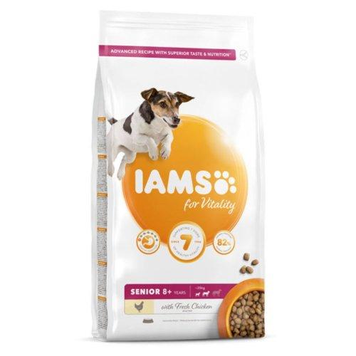 Iams Vitality Senior Small & Medium Dog Food With Fresh Chicken 2kg