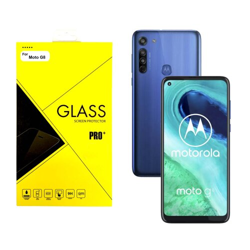 Screen Protector Tempered Glass For Motorola G8