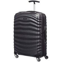Samsonite Lite-Shock - Spinner S Hand Luggage, 55 cm, 36 Litre, Black (Black)