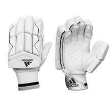 adidas XT 3.0 Junior Cricket Batting Gloves White/Black
