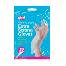 Multi Purpose Extra Strong Gloves Cleaning Household DIY Disposable UK
