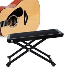 Guitar Foot Stool Folding Rest for Acoustic Electric Classical Guitars