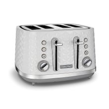 Morphy Richards Silver Vector 248134  4 Slice Toaster
