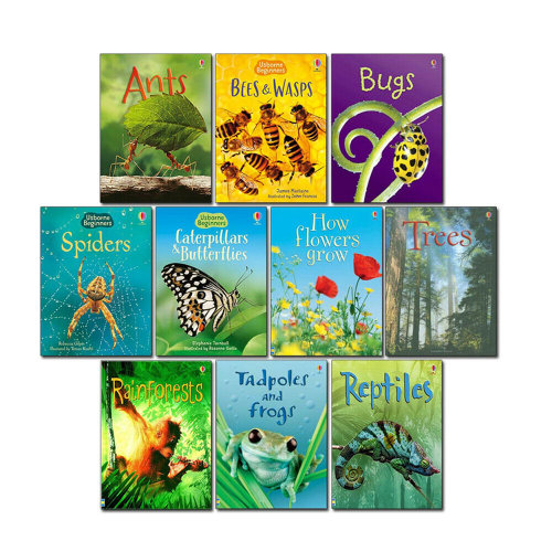 Usborne Beginners Nature 10 Books Set