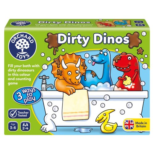 Orchard Dirty Dinos Learning Game