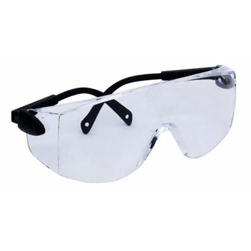 Clear Safety Glasses with UV Coating & Adjustable