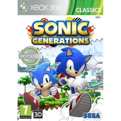 Sonic Generations - Classics Xbox 360