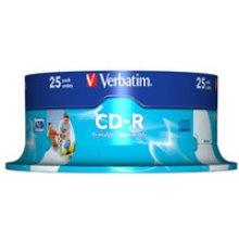 Verbatim CD-R AZO Wide Inkjet Printable CD-R 700MB 25pc(s)
