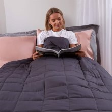 Highams Weighted Blanket 4kg Anxiety Insomnia Stress Relief Sleep 125 x 150cm