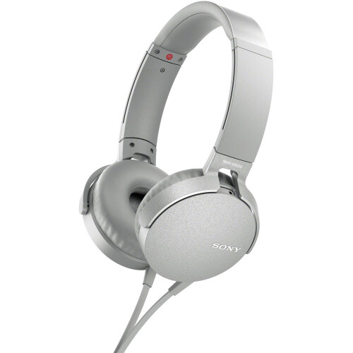 Sony XB550AP EXTRA BASS Headphones (White)