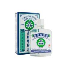 Three Star Brand Medicated Oil