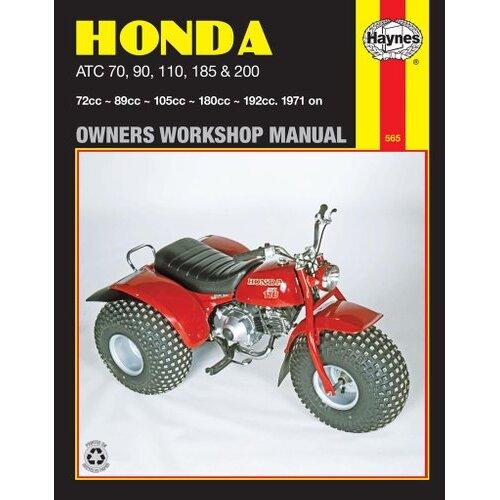 Honda ATC70, 90, 110, 185 & 200 (71 - 85)