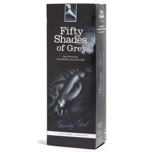 Fifty Shades of Grey Greedy Girl G-Spot Rechargeable Rabbit Vibrator Sex Toy