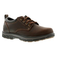 Skechers Segment Rilar Mens Leather Casual Shoes Brown UK Size