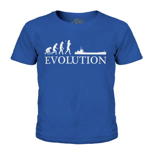 Candymix - Sea Vessel Evolution Of Man - Unisex Kid's T-Shirt