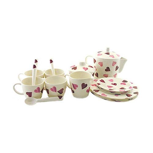 Emma Bridgewater CHILDRESN PLAY TEA SET IN HOUSE BOX, Melamine, Various , , Set of1