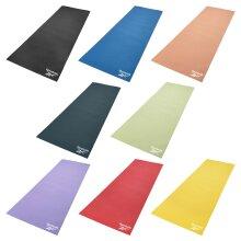 Reebok 4mm Yoga Mat Non-Slip Exercise Gym Training Fitness Workout