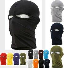 Ski Full Face Mask Sun Shield Motorcycle Cycling Balaclava Neck Warmer Helmet Thin