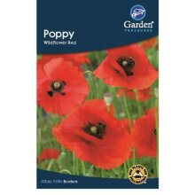 Poppy Wildflower Red Flower Seeds Garden Treasure 400 seeds
