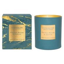 Stoneglow Candles Tumbler Luna Range - Papyrus Woods & Jasmine
