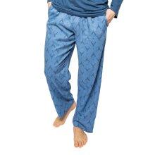 Cyberjammies Arthur 6528 Men's Blue Mix Stag Print Pyjama Pant