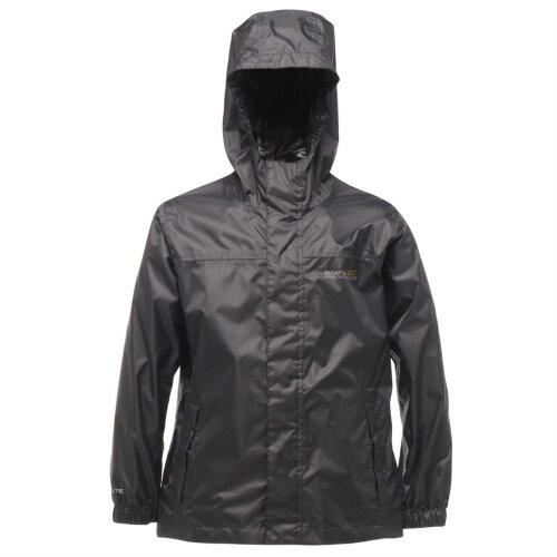 (3 - 4 years, Black) Regatta Pack-It II Kids Jacket
