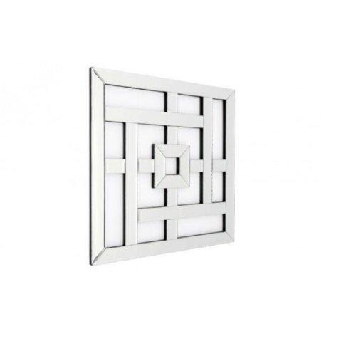 Wall Mirror - Square Lattice Design - Decorative