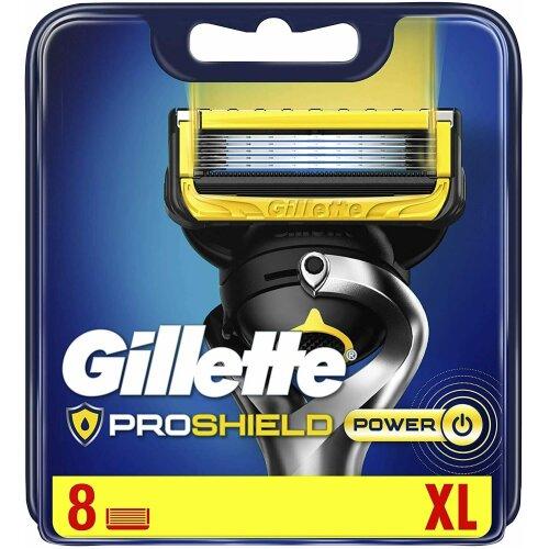 8pk Gillette Proshield Power Razors