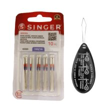 Singer Universal 2020 Sewing Machine Needles Packet of 10, Size 100/16