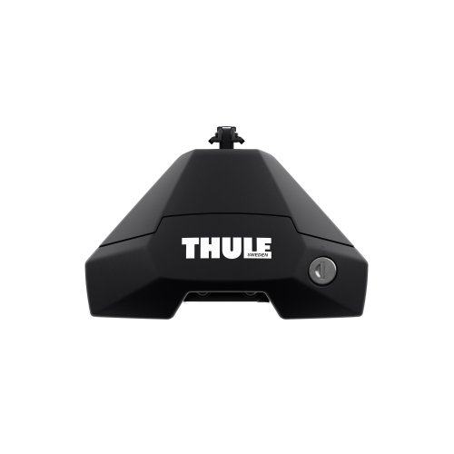 Thule 7104 EVO Raised Rail Roof Bar Foot Pack SET Cars with Roof Railings ONLY