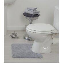 Allure Deep Pile Microfibre Pedestal Toilet Mat