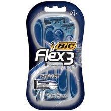 BIC Flex 3 Disposable Razor, Men,  8-Count