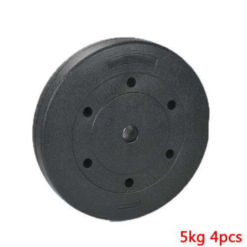 (5kgx4 = 20kg) Weight Plates Set Barbell Lifting Training Discs