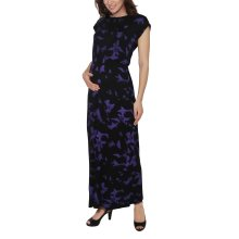 Maternity Short Sleeve Maxi Dress