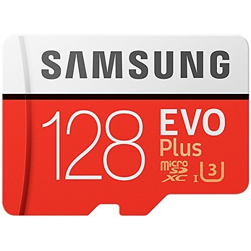Samsung 128GB 95MB/s Memory Evo Plus Micro SD Card with Adapter