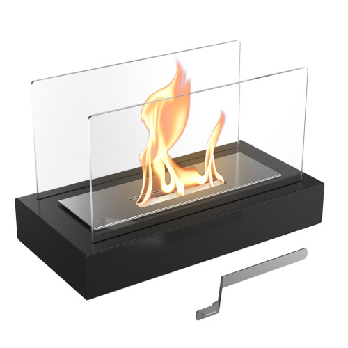 Free-standing biofireplace GALINA with TÜV certified