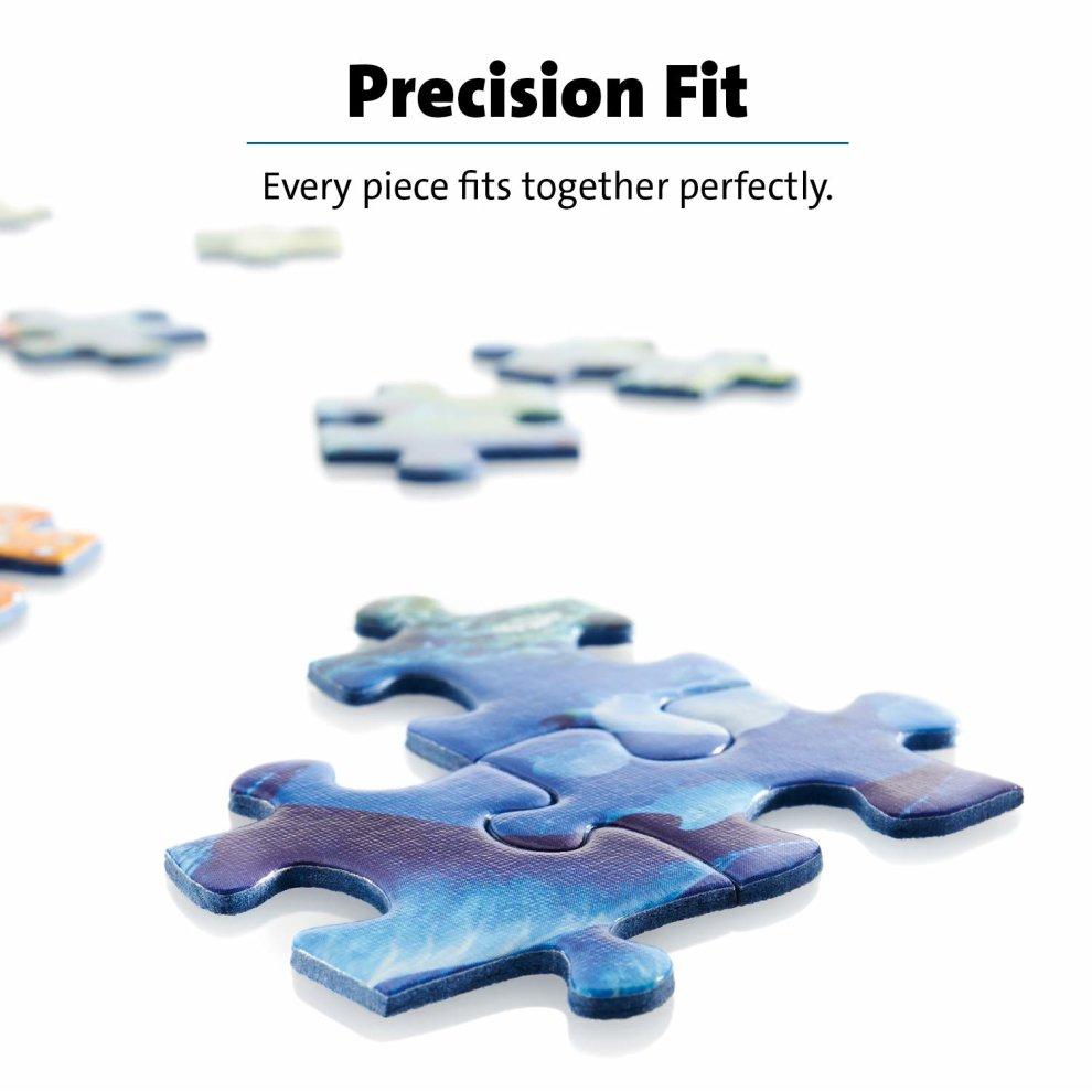 1000pc Jigsaw Puzzle Ravensburger The Magicians Study