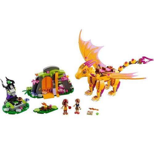 (As Seen on Image) Elves Fairy Friends Figures Building Block Bricks Toy Compatible Lepining Dragon (Wood)