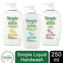 3pk 250ml Simple Kind to Skin Sensitive Hand Wash